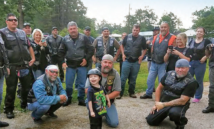 bikers for Kaiden