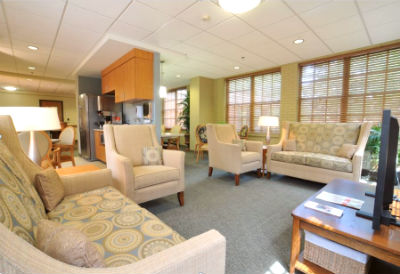 hospice care suites at St. Martin's